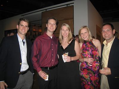 12/17/2010 - Christmas Party - Duncan, James, Charlotte, Emily, Jon