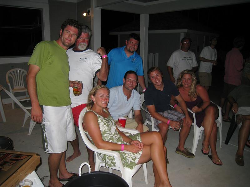 8/14/2010 - FBYC Annual One Design Regatta - Mark, Melissa, Matthew, Jon, Kevin, Jen