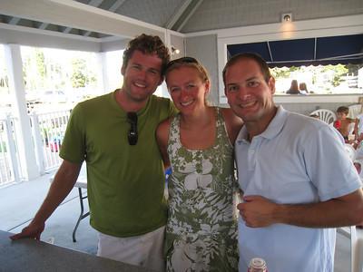 8/14/2010 - FBYC Annual One Design Regatta - Mark, Melissa, Jon