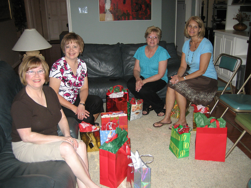 Pat, Gail, Melody, Sue