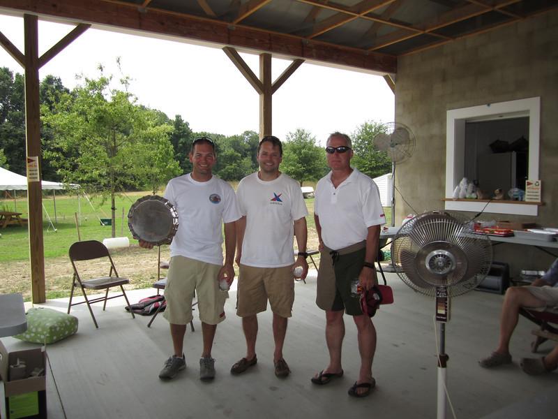 7/24/2011 Corsica River Annual Regatta winners - Jon Deutsch, Holger, Nicholas