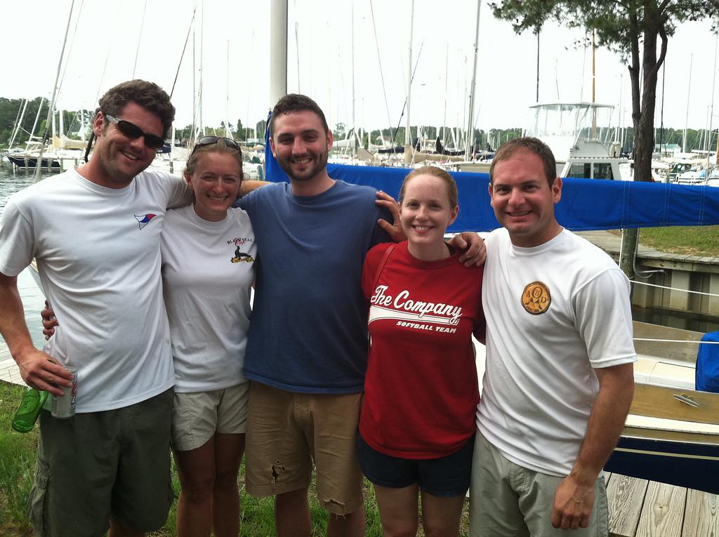 5/22/2011 - FBYC Offshore Series - Mark, Melissa, Patrick, Lauren, Jon