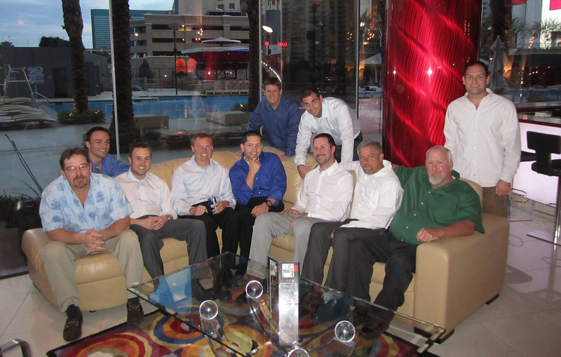 4/8/2011 - JG's Vegas Bachelor Party - Chris W, Chris B, JG, Steve, Chris S, Tom, Preston, Jimmy, Don, Jon