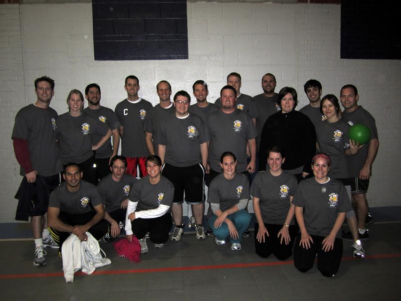 1/11/2011 - Dodgeball - James, Charlotte, jon