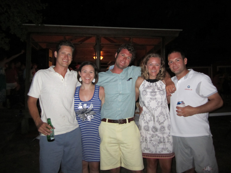 7/2/2011 4th of July - Caroline, Mark, Melissa, Jon