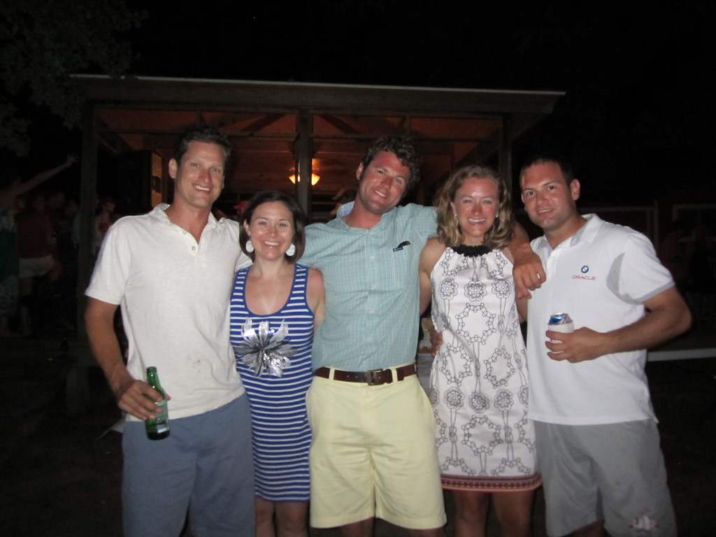 7/2/2011 4th of July - Caroline, Mark, Melissa, Jon
