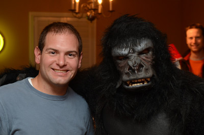 Jon and Preston the Gorilla