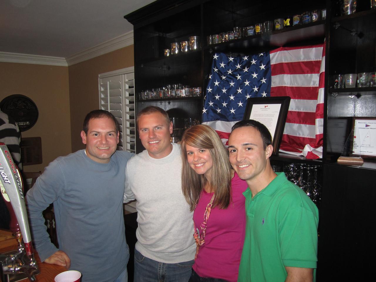 Jon, JG, Jen, Chris