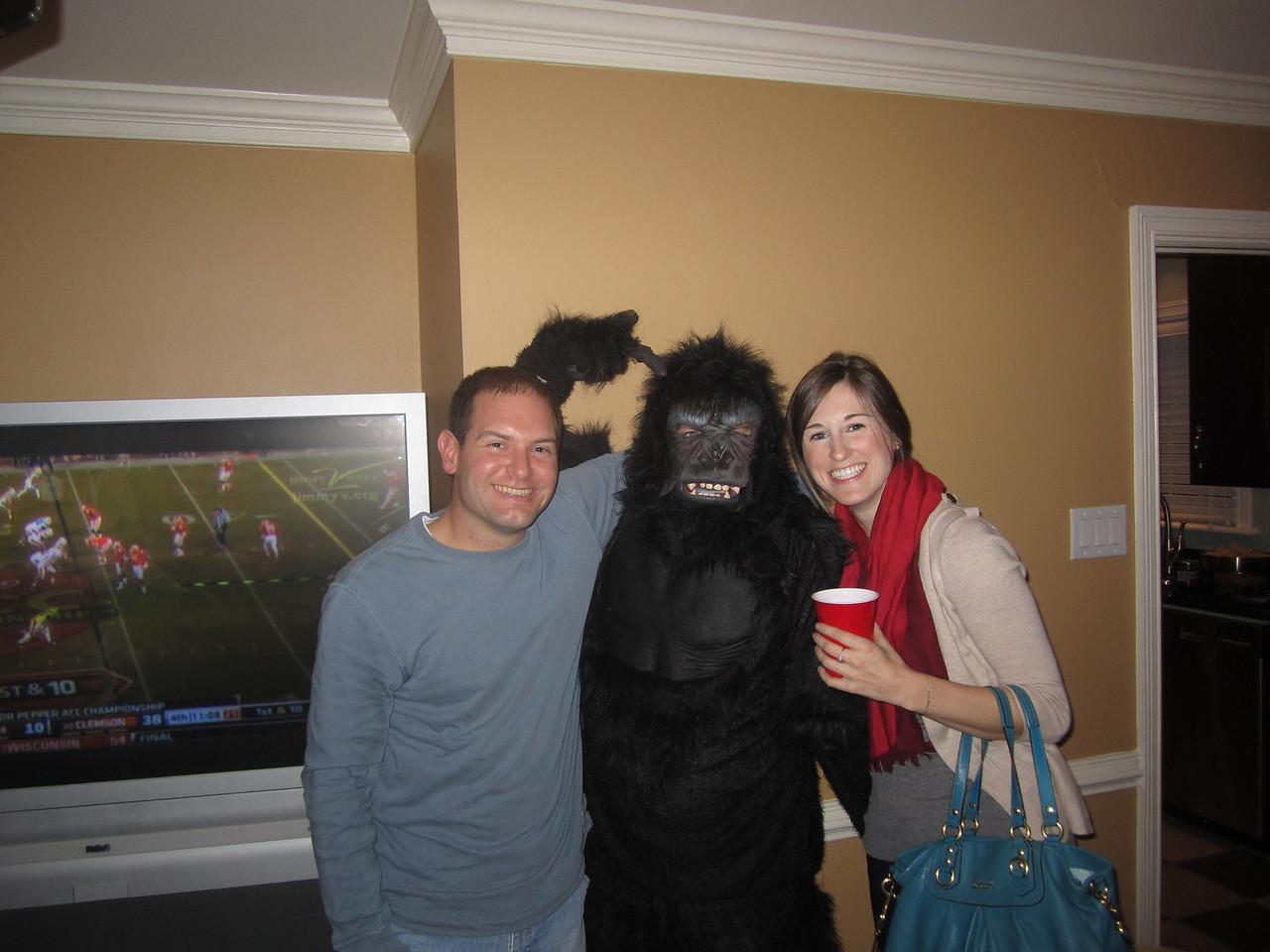 Jon, Preston the Gorilla and Susan