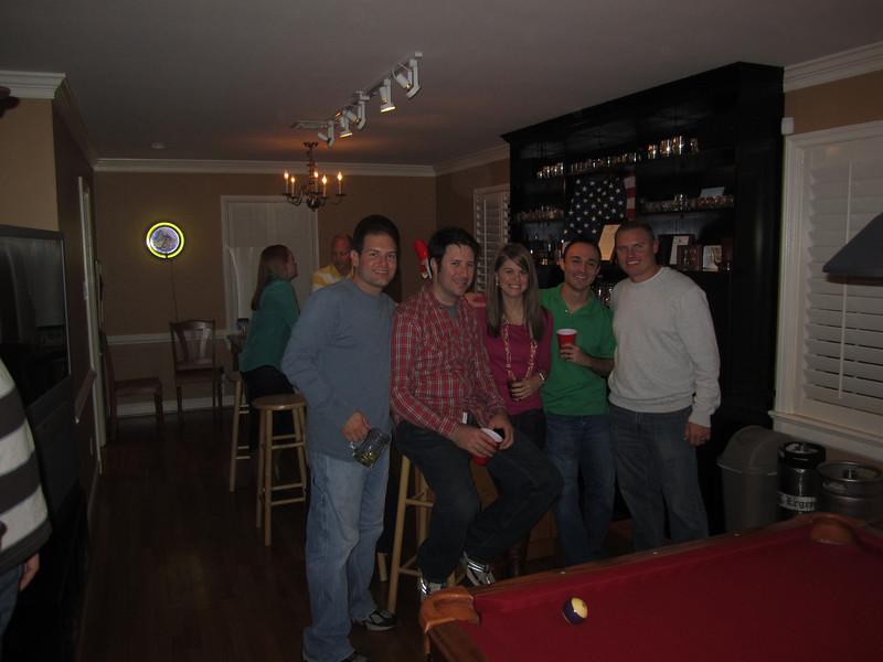 Jon, Preston, Jen, Chris, JG
