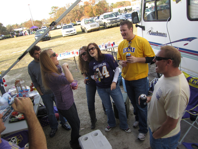 11/19/2011 ECU vs University of Central Florida - Staci, Lauren, Missy, JG