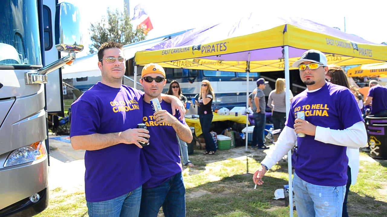 10/1/2011 ECU vs North Carolina  Chris K, Chris W,