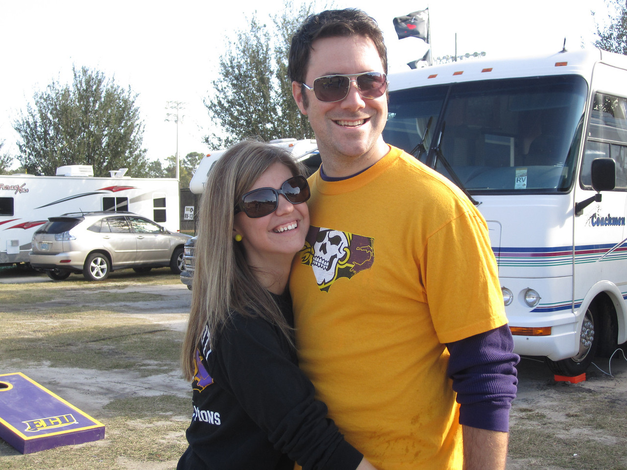 11/19/2011 ECU vs University of Central Florida - Jen, Preston