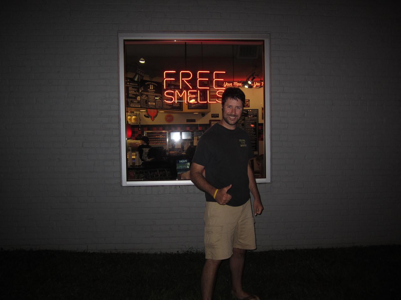 10/1/2011 ECU vs North Carolina  Free smells - Preston