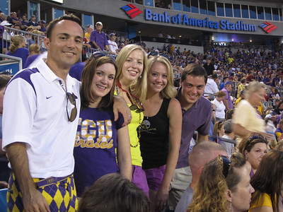 9/3/2011 ECU vs South Carolina  Chris, Heather, Erin, Brittany, Kevin