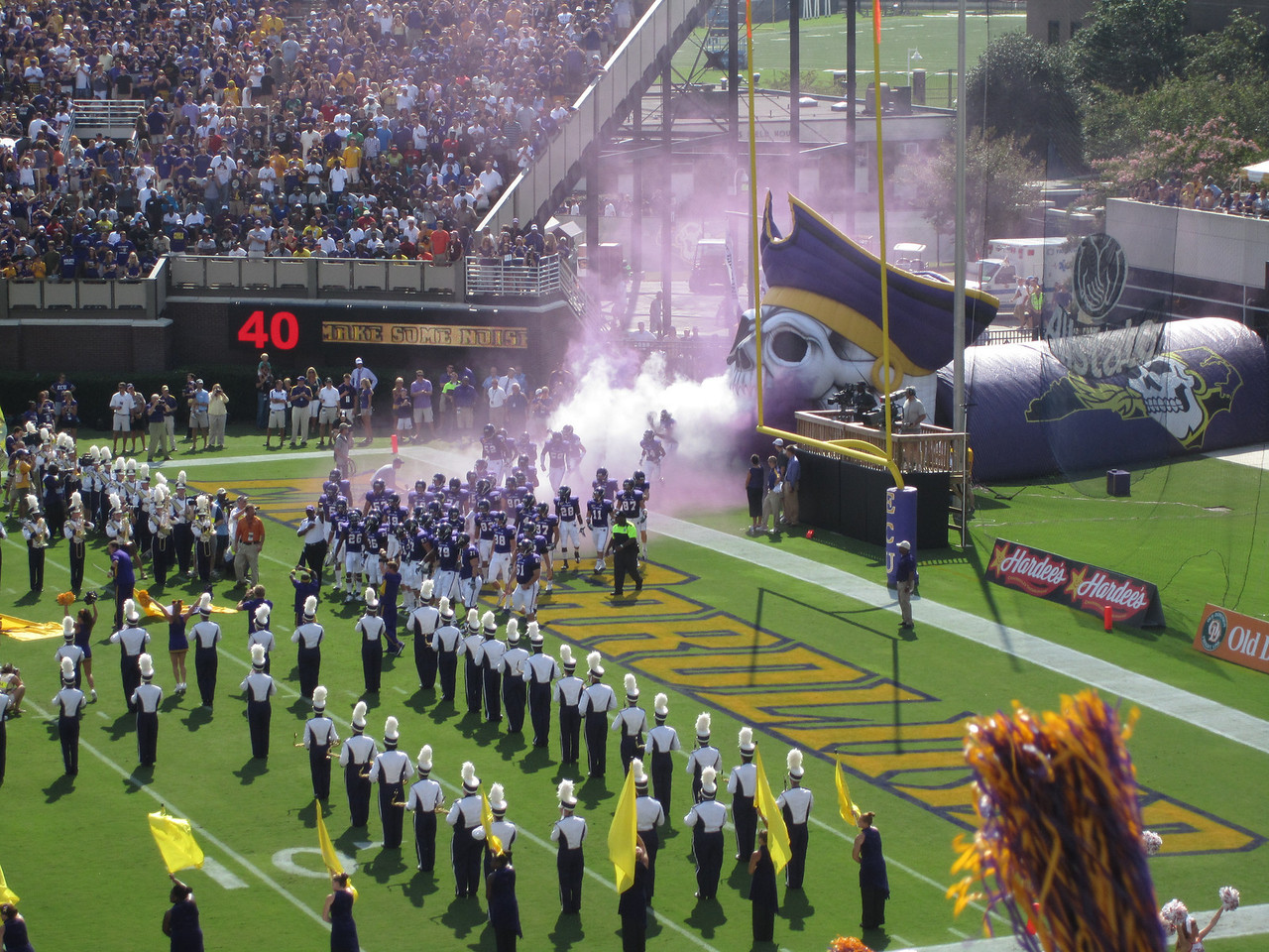 9/10/2011 ECU vs Virginia Tech