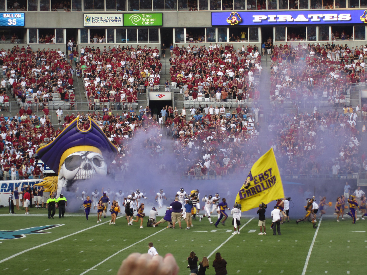 9/3/2011 ECU vs South Carolina