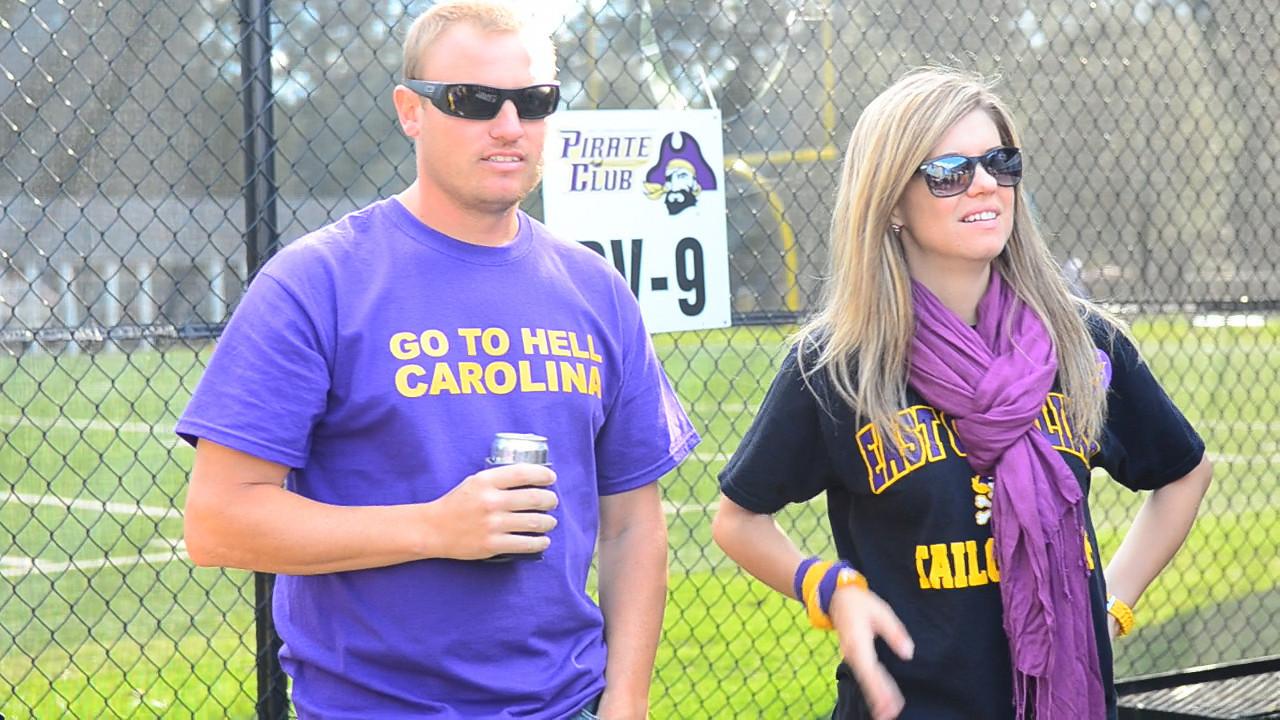 10/1/2011 ECU vs North Carolina  JG, Jen