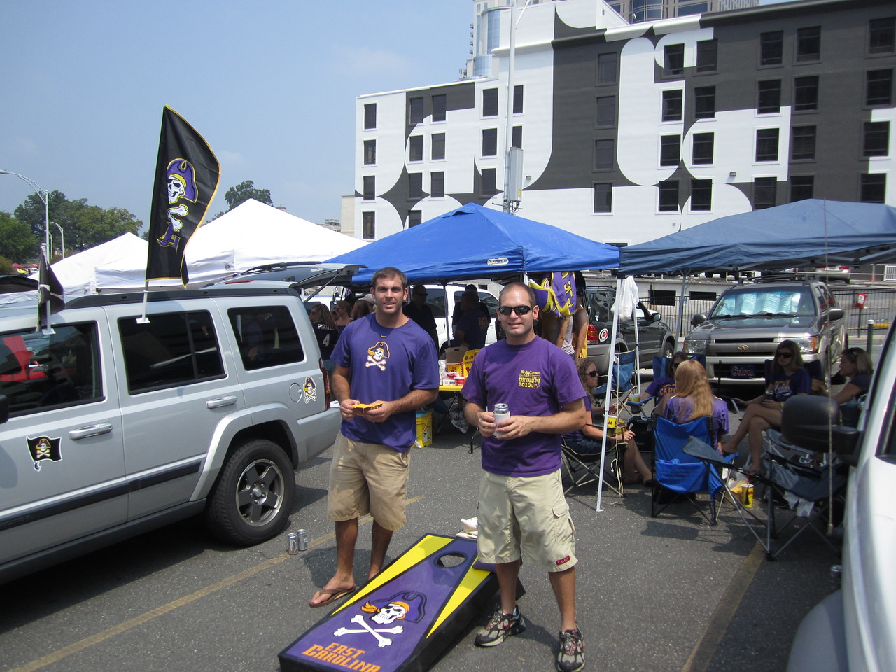 9/3/2011 ECU vs South Carolina  Tom, Jon