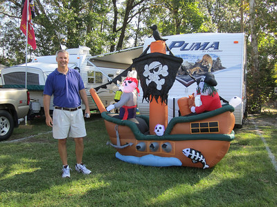 9/10/2011 ECU vs Virginia Tech  Jim and his pirate ship