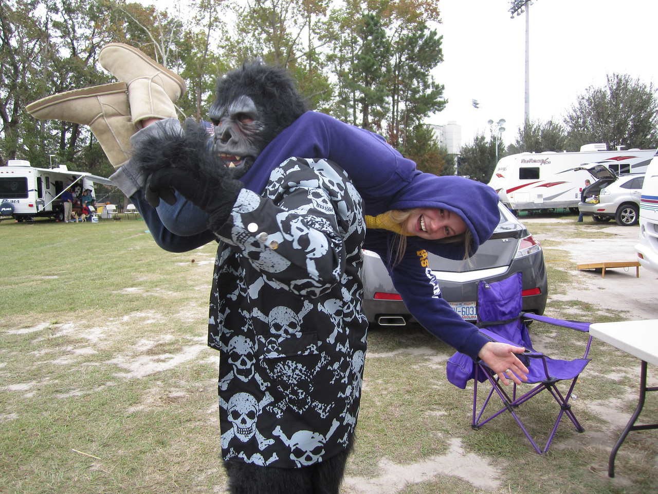 10/29/2011 ECU vs. Tulane (Homecoming) - Preston Hubbard, Jess Dove