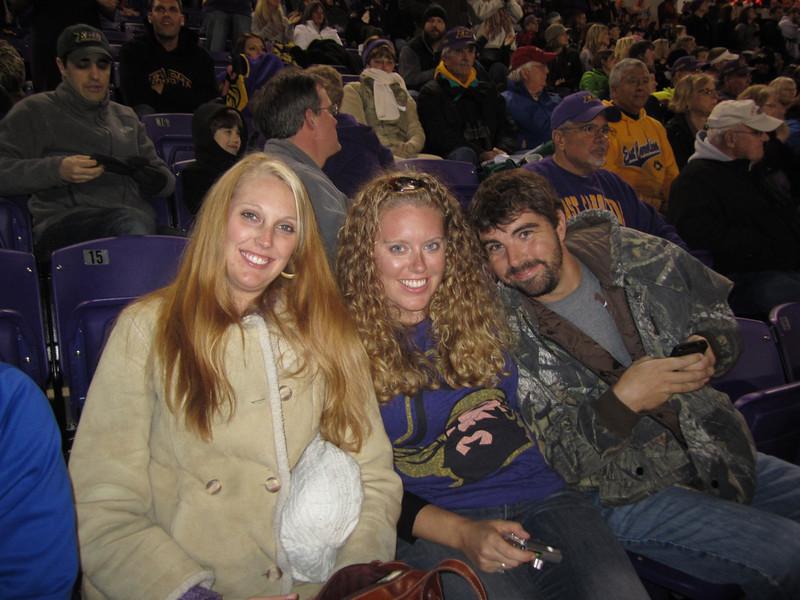 11/19/2011 ECU vs University of Central Florida - Staci, Lauren