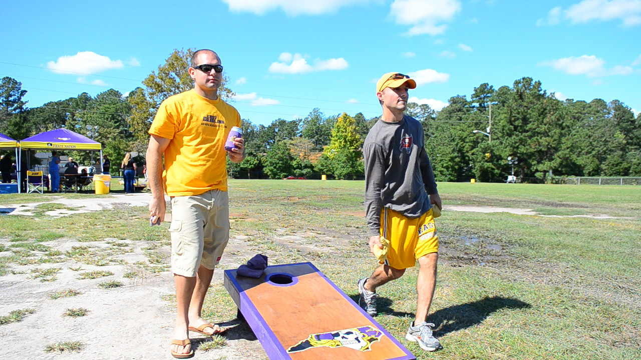 10/1/2011 ECU vs North Carolina  Jon and Chris W