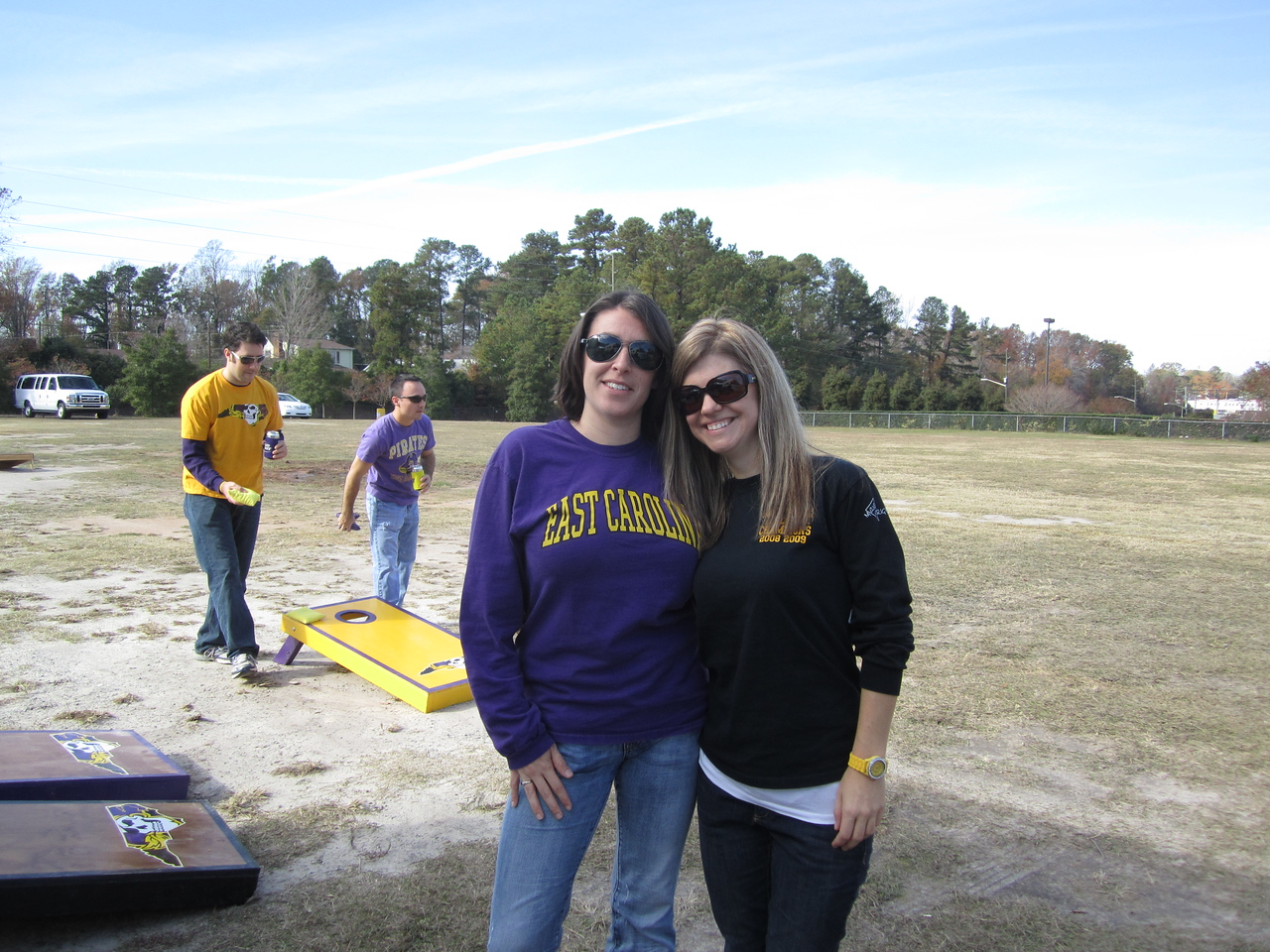 11/19/2011 ECU vs University of Central Florida - Emily, Jen