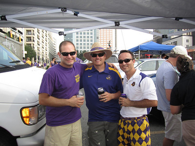 9/3/2011 ECU vs South Carolina  Jon, JG, Chris