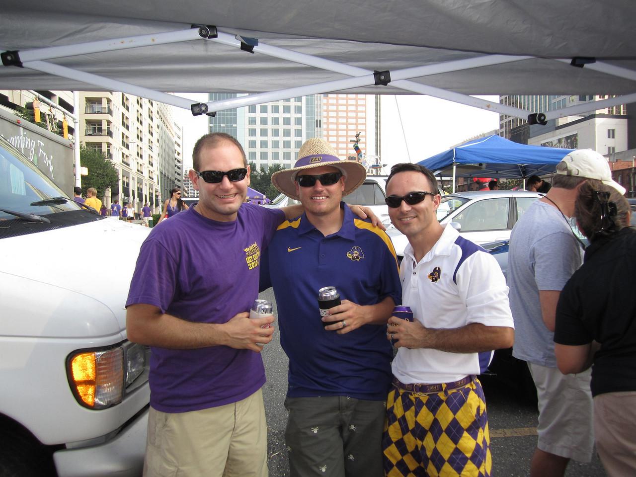 9/3/2011 ECU vs South Carolina  Jon, JG, Chris