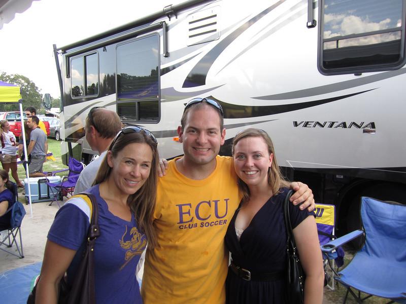 9/10/2011 ECU vs Virginia Tech  Kelley, Jon, Allison
