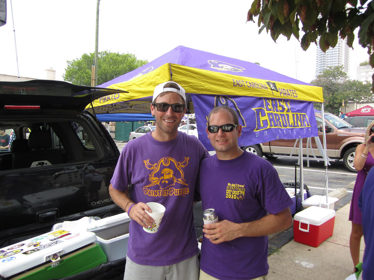 9/3/2011 ECU vs South Carolina  Adam, Jon