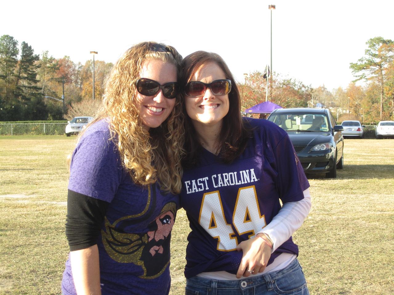 11/19/2011 ECU vs University of Central Florida - Lauren, Missy