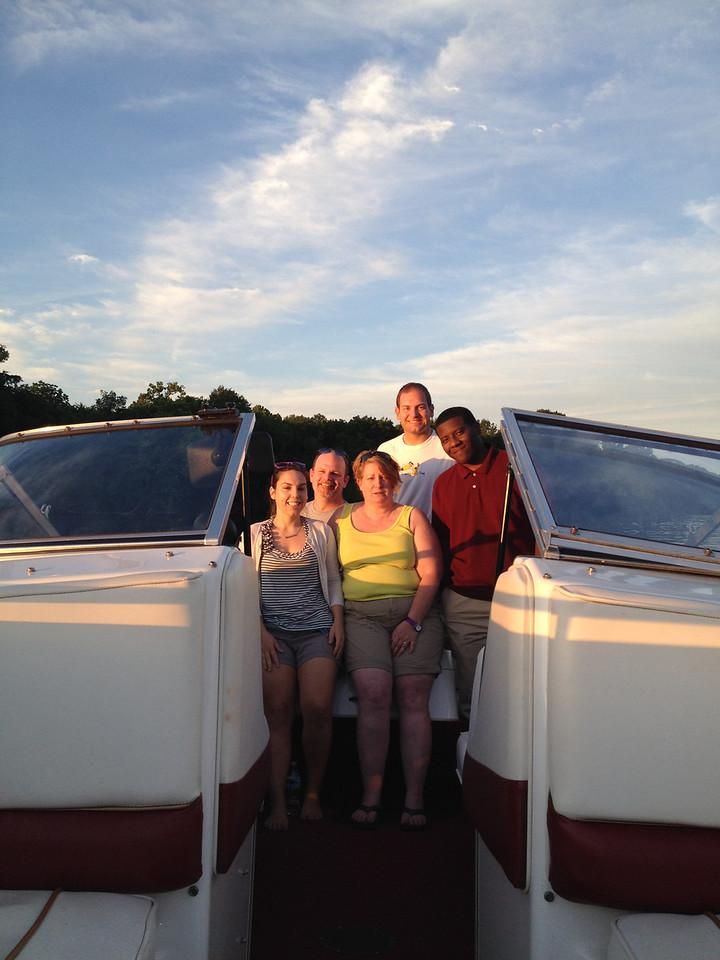 6/13 Michelle, Gordon, Dianne, Jon, Michael