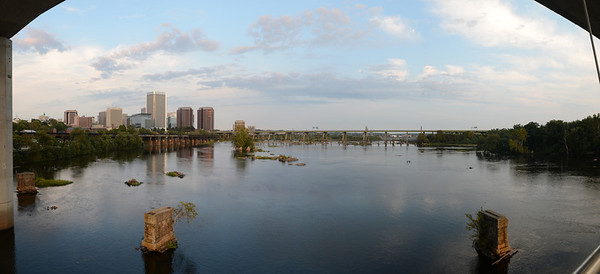 9/25/2012 Richmond Skyline from Belle Isle