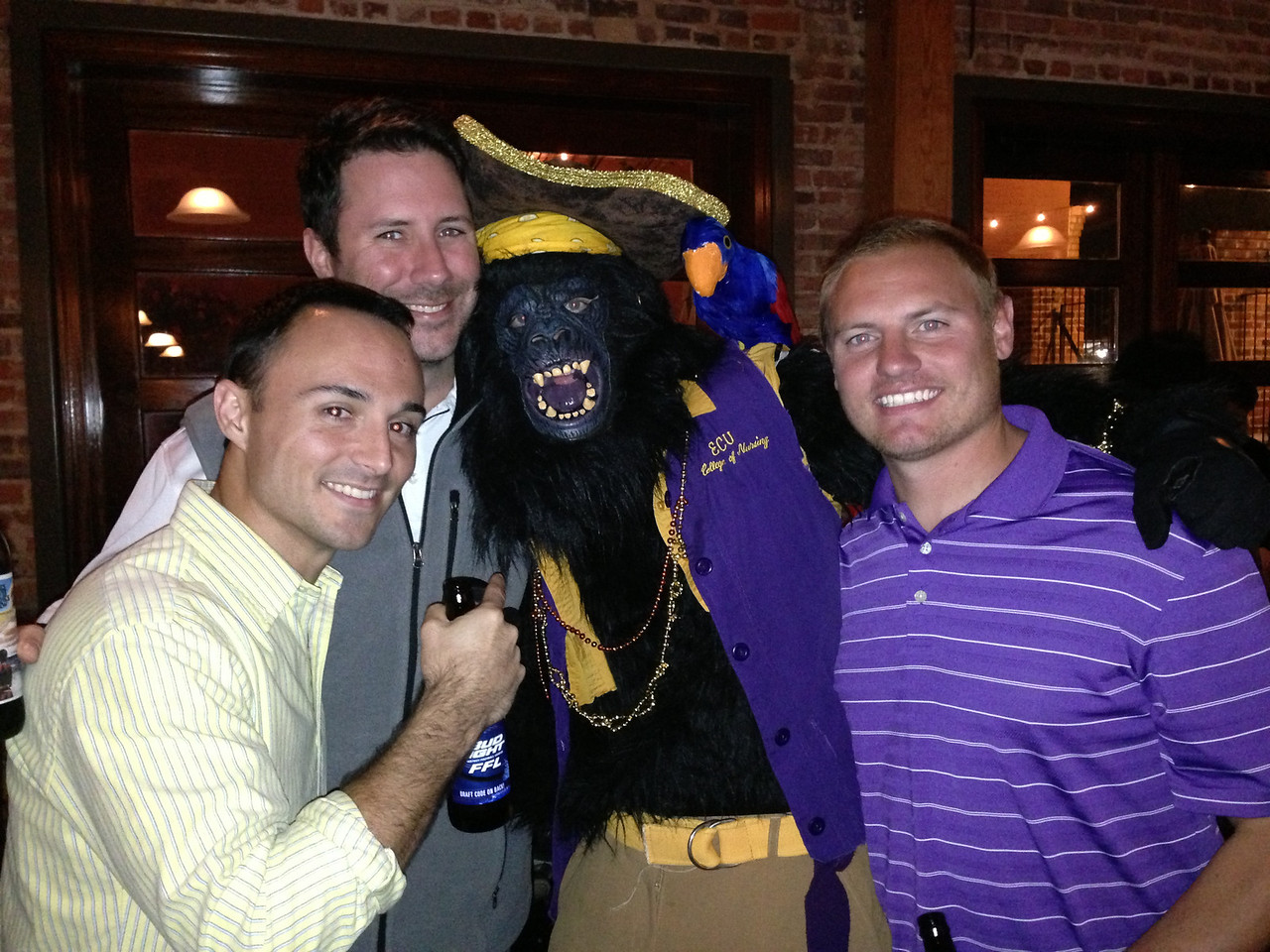 10/27 ECU vs Navy Chris, Preston, JG