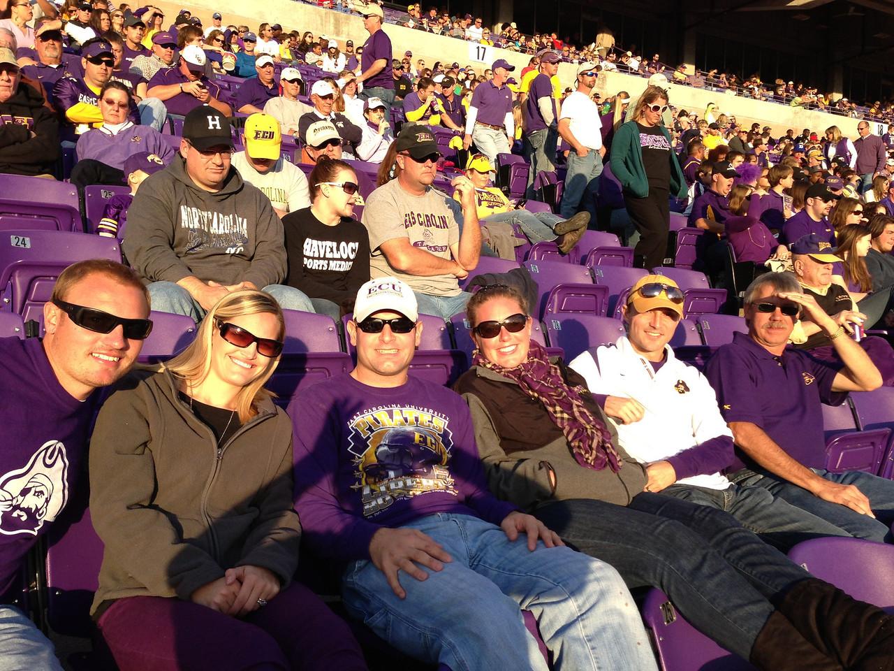 11/23 Marshall Game JG, Stephanie, Jon, Lauren, Chris, Bobby