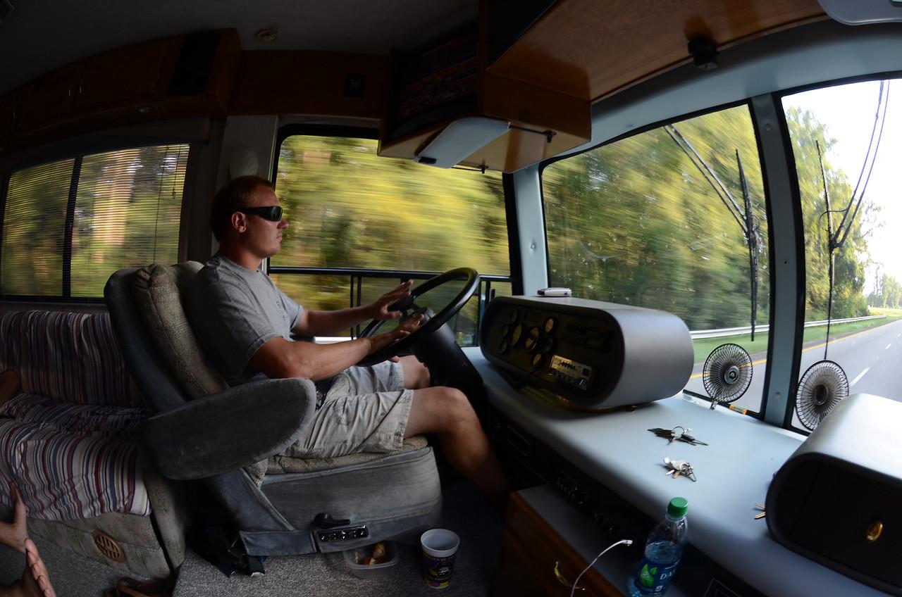 9/7 JG at the wheel