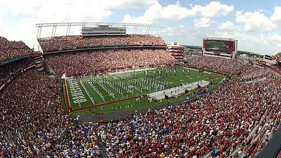 9/8 South Carolina entrance just before the game.