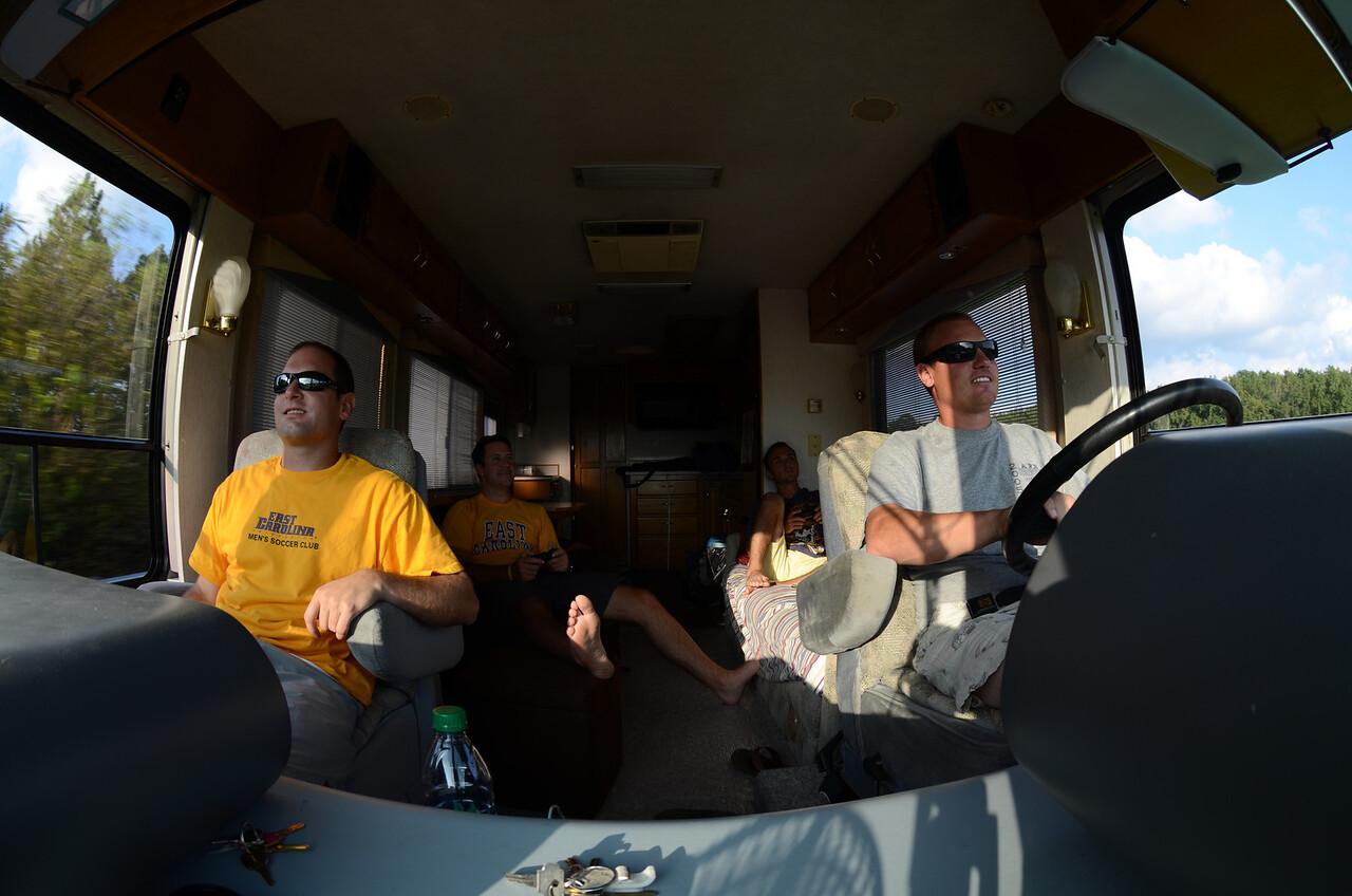 9/7 Jon, Preston, Chris, JG riding.