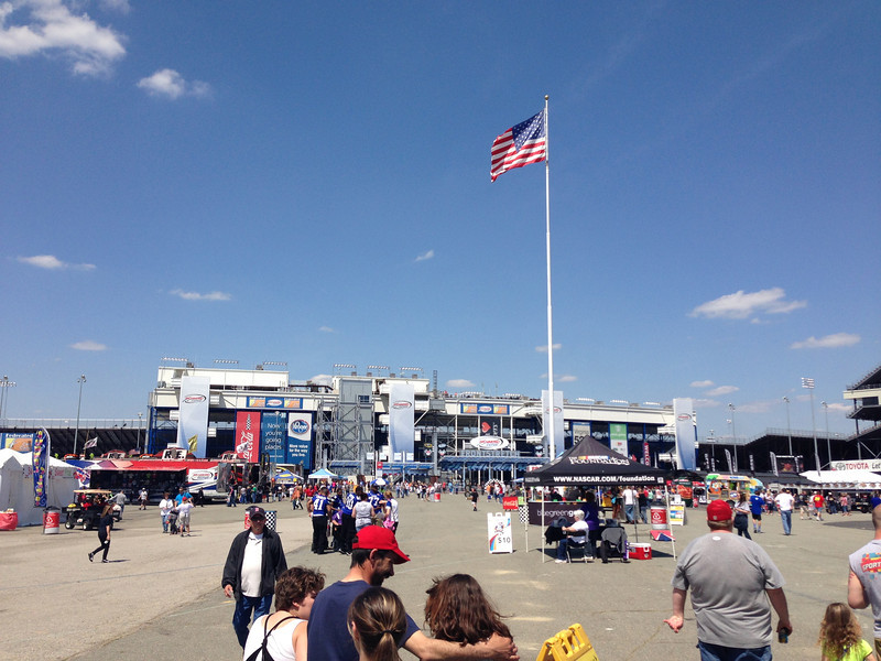 4/26/2013 - Richmond International Raceway front entrance.