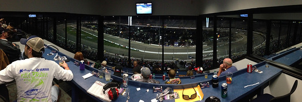 4/26/2013 watching the Toyota Care 250.