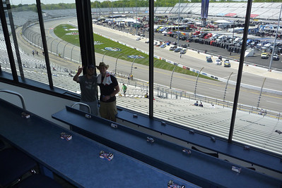 4/26/2013 - Chris and Ken in the suite before the Toyota Care 250.