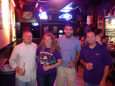9/14 ECU vs VT  JG, Lauren, Tom, Jon