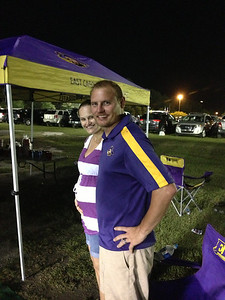 8/30 ECU vs ODU Stephanie & JG bump comparison