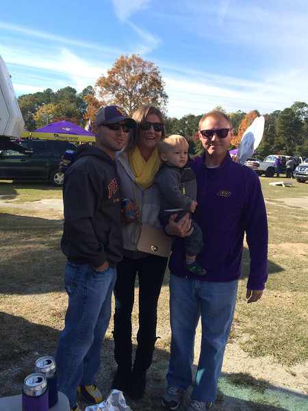 11/9 ECU vs Tulsa  Chris, Courtney, Gunner, JG
