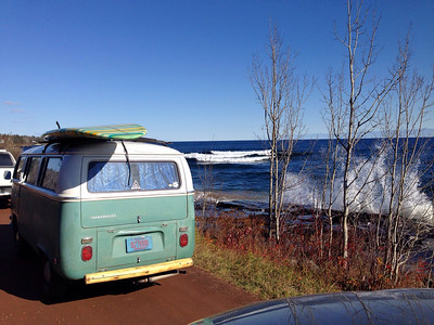 Stoney Point Lake Superior Halloween 2014