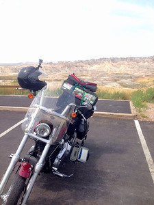 Badlands tour during Sturgis 2014
