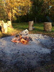 Jackies fire pit Oct 2014