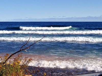 Stoney Point, Lake Superior Halloween day 2014